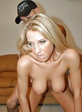 Brabie type bueatiful blonde cutie sucking a mean dick