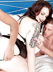 An Xl Girl Doubles Her Pleasure