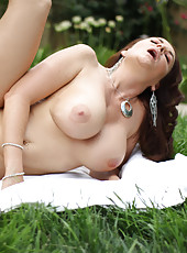 Intimate moment shared by Janet Mason and her man