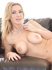Busty teacher seduces student.