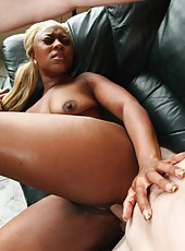 Hot black gfs getting rammed