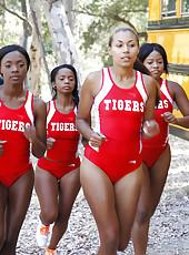 Hot black girls eating pussy