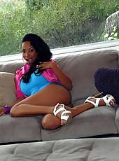 Super hot fucking black ass babe nailed hard in her green bikini hot amateur fuck pics