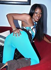 Hot long leg ebony babe teamuku gets her black box fucked hard outdoors in these hot amateur black babe fuck pics