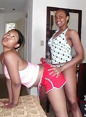 Photo gallery of amateur steamy hot kinky nubian girlfriends