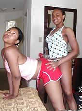 Photo gallery of hot and sexy nubian BFFs