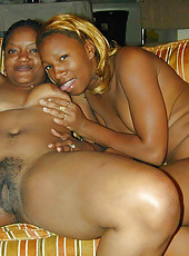 A compilation of different ebony babes who are naked