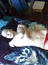 Collection of an amateur gorgeous wife teasing her hubby