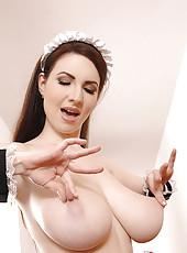 Karina Heart In French Maid Uniform