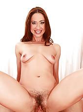 Sexy Redhead Gets Her Bush Pummeled