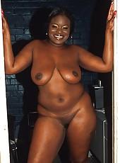 Fat black girl jiggling like jello in hardcore action