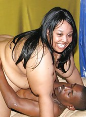 Massive Black BBW Does it Doggy Style