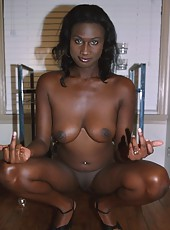 White boy lives out his fantasy of fucking a black chick
