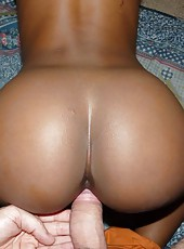 Sexy picture compilation of a bootylicious ebony GF