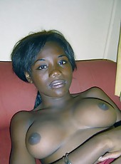 Picture collection of a group of sexy amateur ebony girlfriends