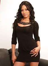 Naive Black Babe Seduced At Audition