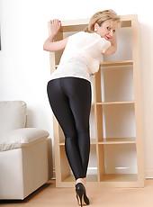Wetllook leggings
