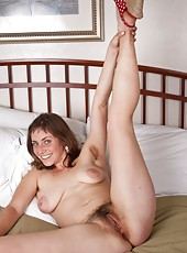 After getting the call that she is no longer needed at work for the day, hairy girl Tanya doesn