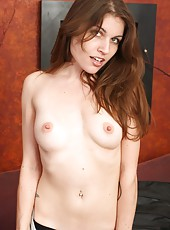 You will be ready to explode as Holly slowly undresses her sexy tight body, all the way down to her pink and dark haired pussy.