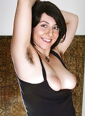 Raven is a unrivaled natural beauty here at WeAreHairy.com. She is simply hairy from head to toe, and isn