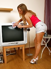 Sit back and relax as Alisha gets sexually domesticated...she