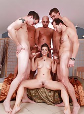New bride blows all her groomsmen!