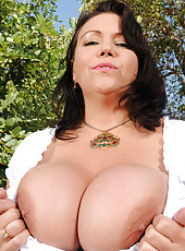 Big Boobs Outdoor