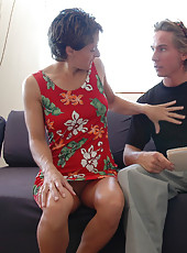 Hot mom Cori Gates decides to have hot sex with her sons friend.
