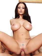 Ava Addams kicks out one guy so she can get fucked by the other one and his big cock.
