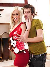 Gorgeous Tara Lynn Foxx has hot sex with big married cock.