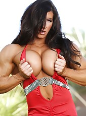 Angela Salvagno is one bad ass muscle babe and gorgeous too. You must see her hard huge body.
