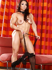 If you like big muscle girls with hard asses, you are going to love Brandi Mae.