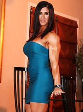 Elisa Ann Costa is such a beauty with such an awesome physique, she could kick your ass if she wanted to.