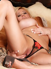 If you love panties you are going to go nuts over Rachel Aziani
