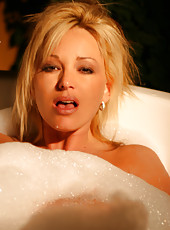 Nothing like taking a bubble bath outside!! This awesome resort in Phoenix that I shot in had a bathtub on the outside patio..nice!