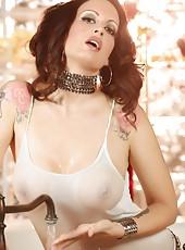 Wet and sexy Nikki Nova!