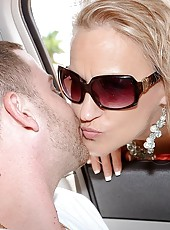 He coated her face and sent her home to make sure her husband got some of tonys loving as well