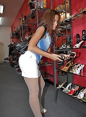 Adiana is so fucking hot watch her get banged in the backroom of this shoe store