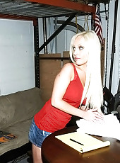 Hot ass mini skirt office babe fucked hard in the parking garage before work hot pics
