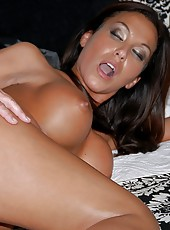 Watch this fucking hot milf get nailed in her ass by the water in these fuck pics