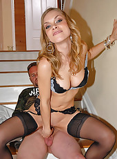 Silky smooth euro babe ivana vants a hot cock in these pussy slammin euro milf pics