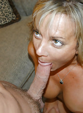 Older milf looking for some young hard cock meets the hunter