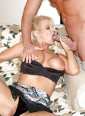 Hot blinde mama getting nailed hard from behind