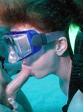 Amazing underwater pics of hot milf getting fucked while scuba diving