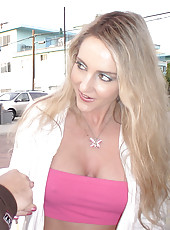 Hot milf gets creamed here in these pictures