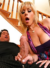 Super sexy blonde gets her pussy slammed in these hot high class fuck vids