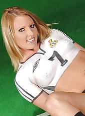Naked hot Viktoria Blonde for Ghana