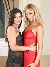 Babes Masa & Tihana double donging