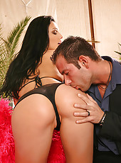 Florencia gets fucked from behind