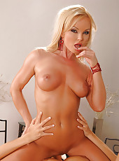 Hot blonde licks her girlfriends pussy